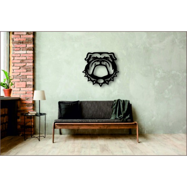 "Арт 1109 Декор на стену ""Бульдог"""