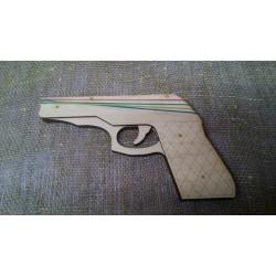 Арт 561, Пистолет - Резинкострел
