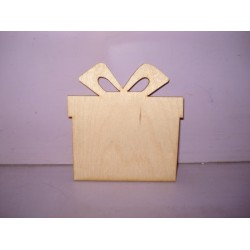 Арт 478, Коробочка с подарками, фанера 4мм