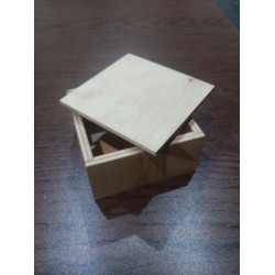 Арт 1045, Коробочка под украшения, маленькая упаковка