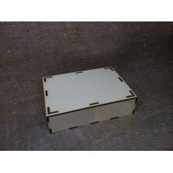 Арт 695, Коробочка упаковочная с крышкой
